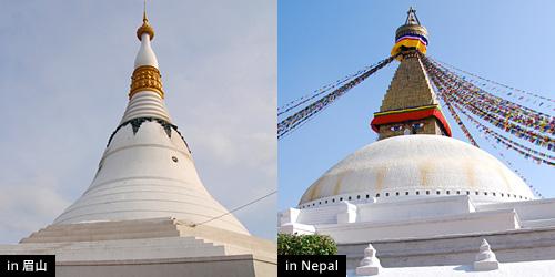 パゴダ(ミャンマー式の仏塔)
